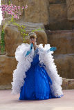 Ladyboy performing Royalty Free Stock Photos