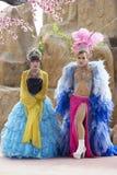 Ladyboy performing Royalty Free Stock Photography