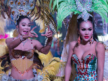 Ladyboy in the show Stock Images