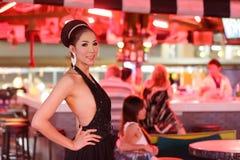 Ladyboy tailandês Fotos de Stock
