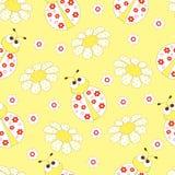Ladybug άνευ ραφής Στοκ Φωτογραφία