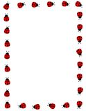 ladybug рамки иллюстрация штока