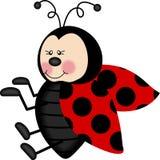 ladybug симпатичный Стоковая Фотография RF