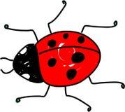 Ladybug ilustração royalty free
