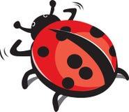 Ladybug. This is an illustration of a ladybug Royalty Free Stock Photo