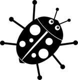 Ladybug ilustração do vetor