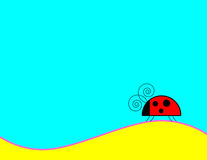 Ladybug Background Royalty Free Stock Images