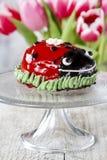 Ladybug cake Royalty Free Stock Image