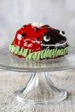 Ladybug cake Stock Photo