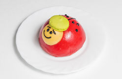 Ladybug cake Royalty Free Stock Images