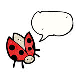 ladybug cartoon character Royalty Free Stock Photos