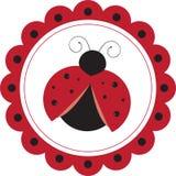 Ladybug Circle Stock Image