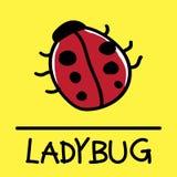 Ladybug Claus hand-drawn style. Ladybug Claus hand-drawn style,drawing,hand drawn, illustration Stock Photos