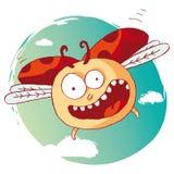 Ladybug divertido Imágenes de archivo libres de regalías