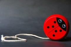 Ladybug engraçado Foto de Stock Royalty Free
