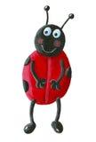 Ladybug engraçado Fotografia de Stock