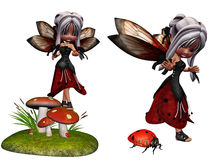Ladybug fairy Royalty Free Stock Photo