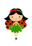Ladybug fairy Stock Photography