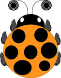 Ladybug icon Stock Photography