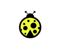 Ladybug illustration Stock Photography