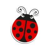 Ladybug. Illustration of an isolated Ladybug stock illustration