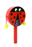 Ladybug rattle for children Royalty Free Stock Photos