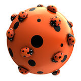Ladybug's world stock images