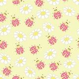 Ladybug seamless Royalty Free Stock Images