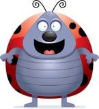 Ladybug Smiling Stock Image
