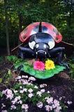 Ladybug Statue stock image