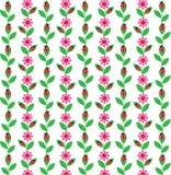 Ladybug stripe Royalty Free Stock Image
