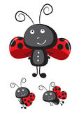 Ladybug vector Royalty Free Stock Image