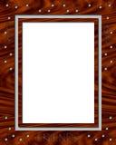 Ladybug Wooden Frame Stock Photography