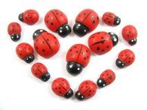 Ladybugheart Stock Image
