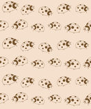 ladybugs делают по образцу безшовное Стоковое фото RF