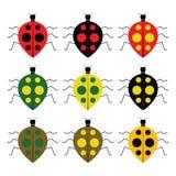 Ladybugs royalty illustrazione gratis