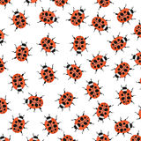 Ladybugs as background Royalty Free Stock Photos