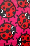 Ladybugs variopinti del fumetto Fotografia Stock Libera da Diritti