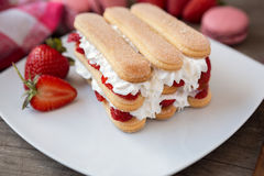 Ladyfinger biscuits Stock Photography