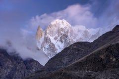 Ladyfinger peak, Hunza, Pakistan royalty free stock photography