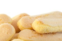 Ladyfingers cookies Royalty Free Stock Photography