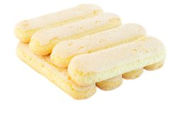 Ladyfingers cookies Stock Photo