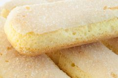 Ladyfingers cookies Royalty Free Stock Image