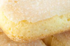 Ladyfingers cookies Royalty Free Stock Photo