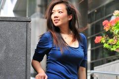 ladykontor för asiat 29 arkivfoto