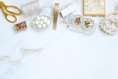 Ladylike desk Royalty Free Stock Image