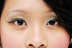 Ladys eyes Royalty Free Stock Images