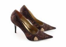 Ladys Schuhe trennten Stockfotografie