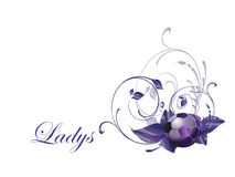 Ladys Soccer ball Stock Images