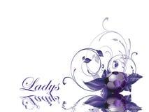 Ladys Soccer ball Stock Photos